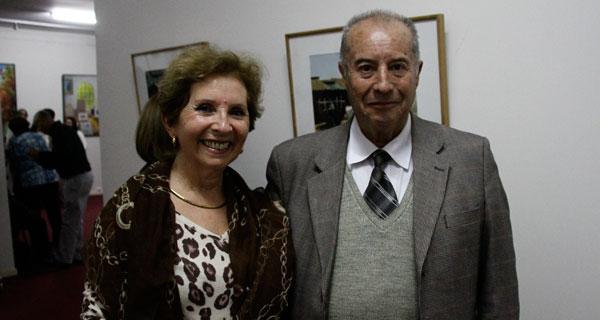 Angélica Valderrama y Simón Muñoz.
