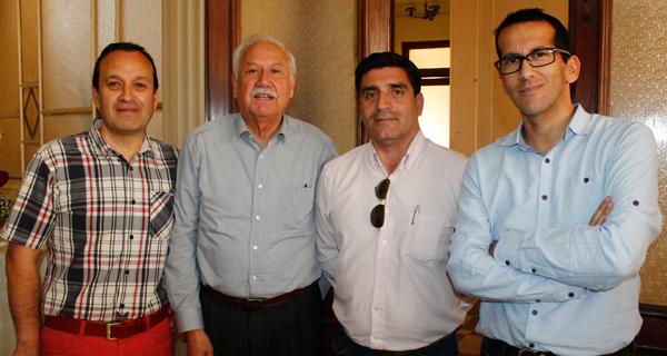 Rodrigo Guíñez, Daniel Sepúlveda, Jorge Quijada y Rodrigo Oses.