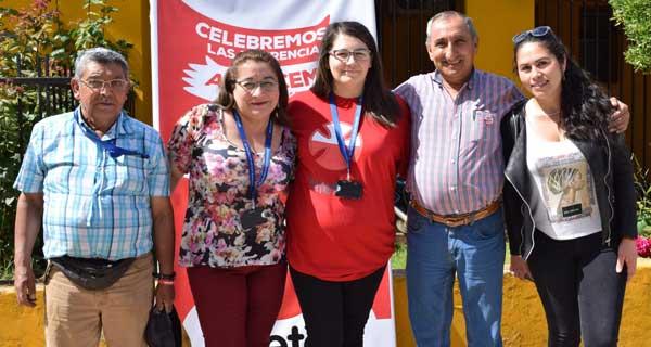 Manuel Gutiérrez, Cristina Venegas, Claudia Fica, Osiel Soto y Nicole Lagos.