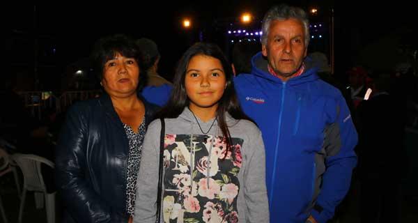 Mónica Lupan, Constanza Jaramillo y Ramón Vásquez