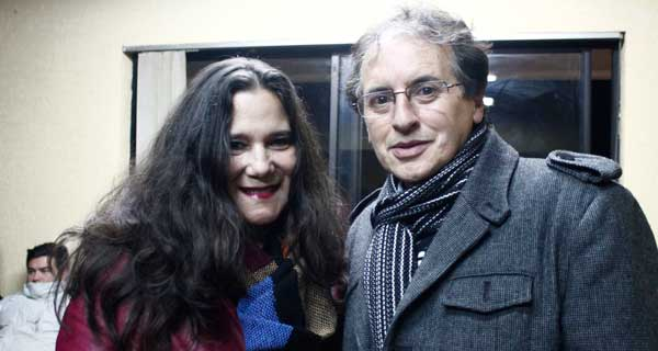 Luz Betancourt y Juan Pablo Garrido.
