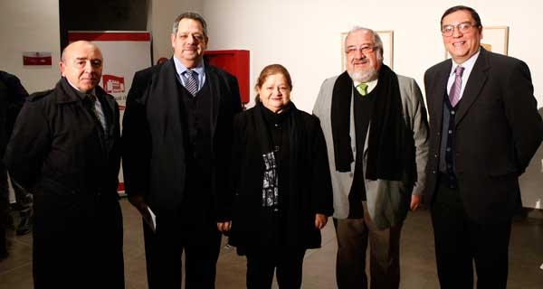 Wenceslao Vásquez, Sergio Zarzar, Marcia Galarraga, Arturo Huerta y Patricio Huepe.