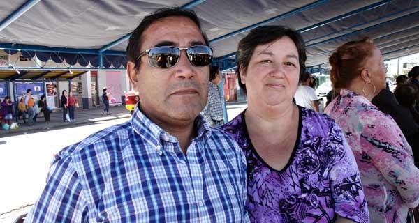 Héctor Henríquez y Jackeline Cifuentes.