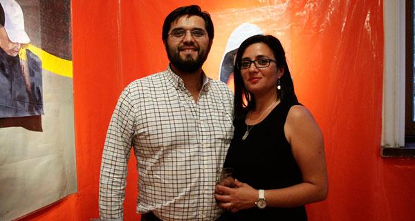 Miguel Escalona y Gisela Sepúlveda.