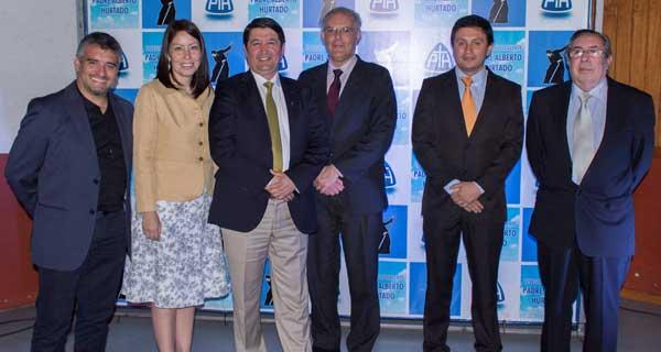 Autoridades - Carlos González, Irma Osorio, Rodrigo Sepúlveda, Ignacio Iriarte, Javier Rubilar, René de la Rivera.
