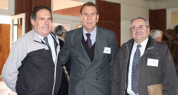 Juan Jansen, Héctor Neira y Manuel Estrada.