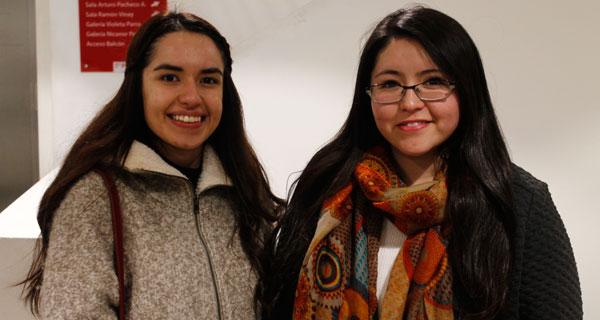 Melisa Arteaga y Damariz Sandoval.