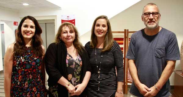 Carola Venegas, Estrella Monroy, María José Murgadas y Francisco Martinic.
