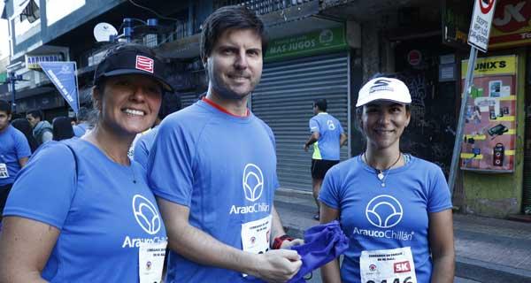 Daniella Topali, Juan Francisco Albarracín y Josefina Hidalgo.