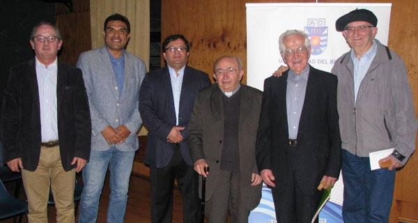 Luis Rojas, Mauricio Rojas, Cristian Leal, Juan Luis Ysern, Raúl Manríquez y José Luis Ysern.