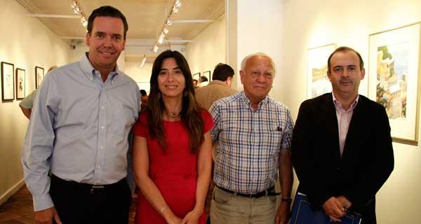Felipe Harboe, María Soledad Castro, Luis Guzmán y Paulo de la Fuente.