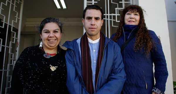 Carmen Mantilla, Esteban Sáez y Catalina Becerra.