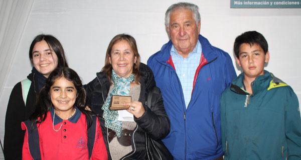 Javiera Valdés, Bernardita Valdés, Cecilia Gallegos, Luis Carrasco y Vicente Albornoz.