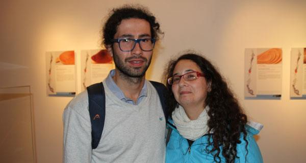 Paulo Lara y Clarisa Villavicencio.