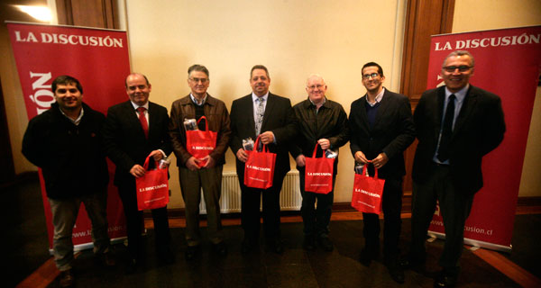 Marcelo Herrera, Juan Ramírez, Luis Venzano, Sergio Zarzar, Álvaro Izquierdo, Rodrigo Oses y Francisco Martinic.
